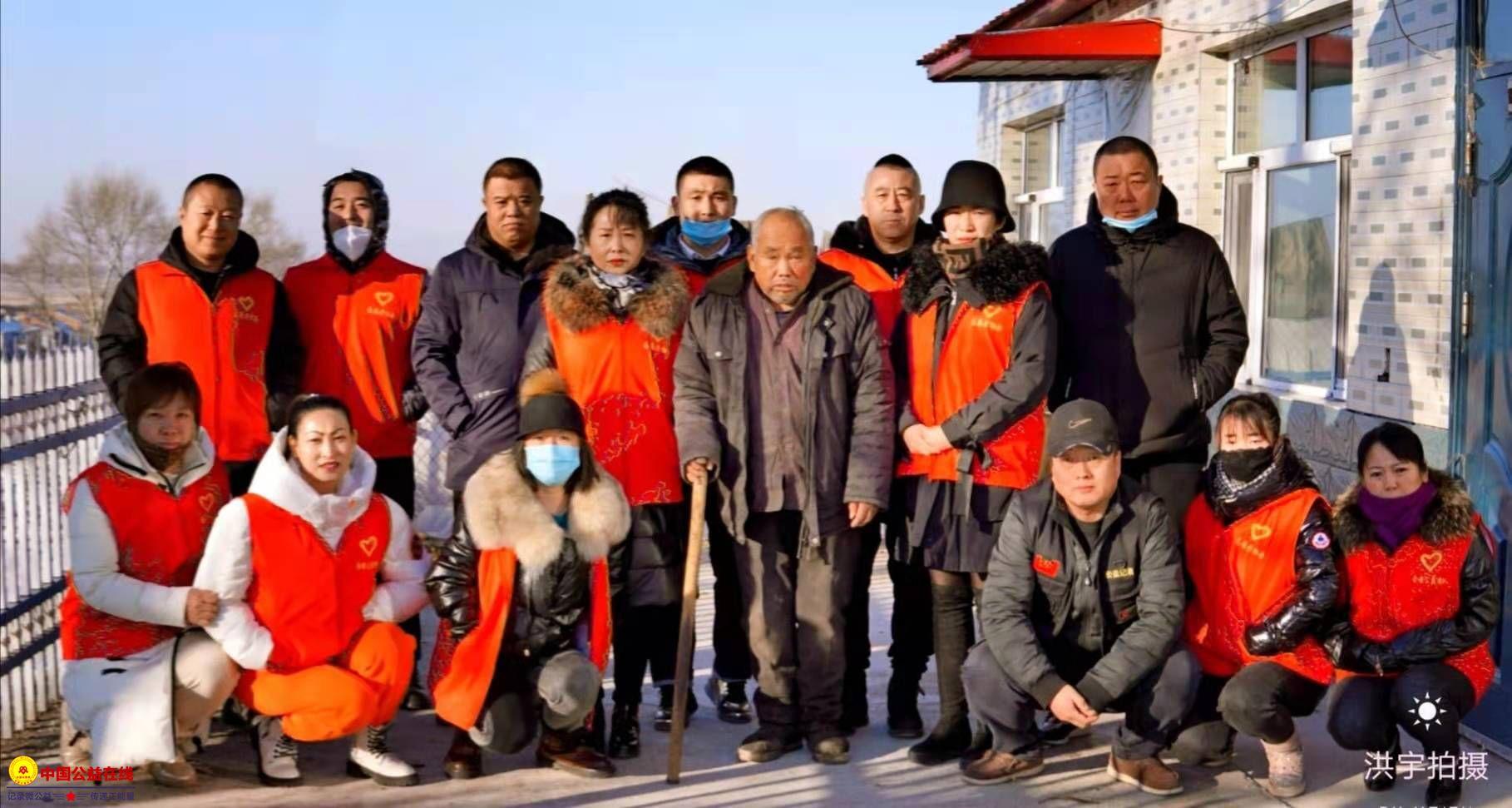 克东县志愿者协会爱心活动一直在路上