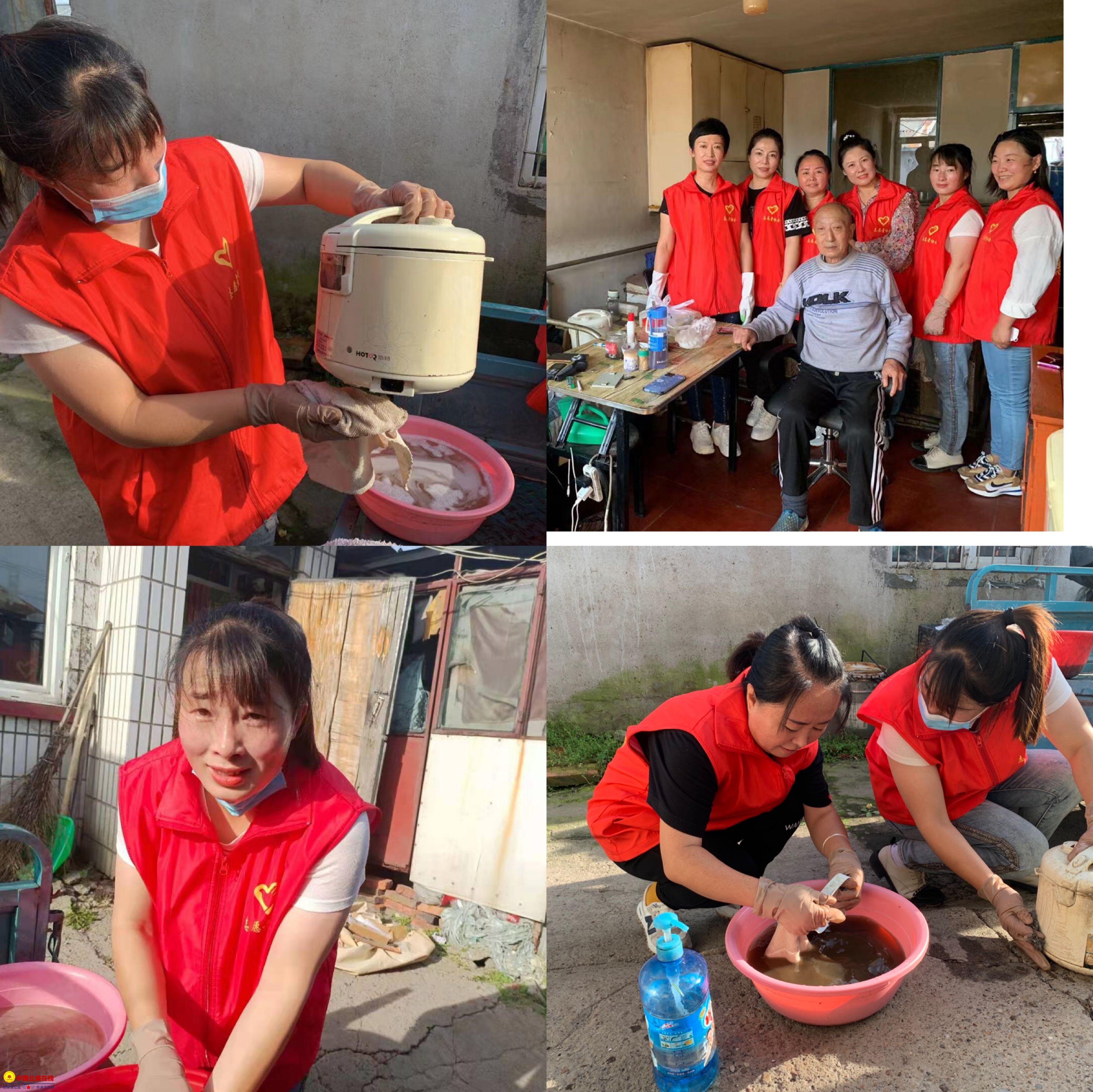 克东县志愿者协会 传递正能量 弘扬雷锋精神